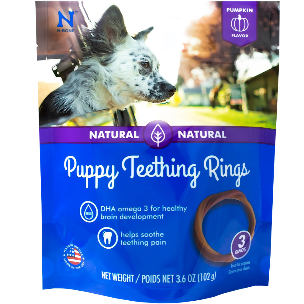 N Bone Puppy Teething Ring Review