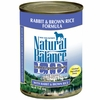 Natural Balance® Limited Ingredient Diets® - Rabbit & Brown Rice (13 oz Can)