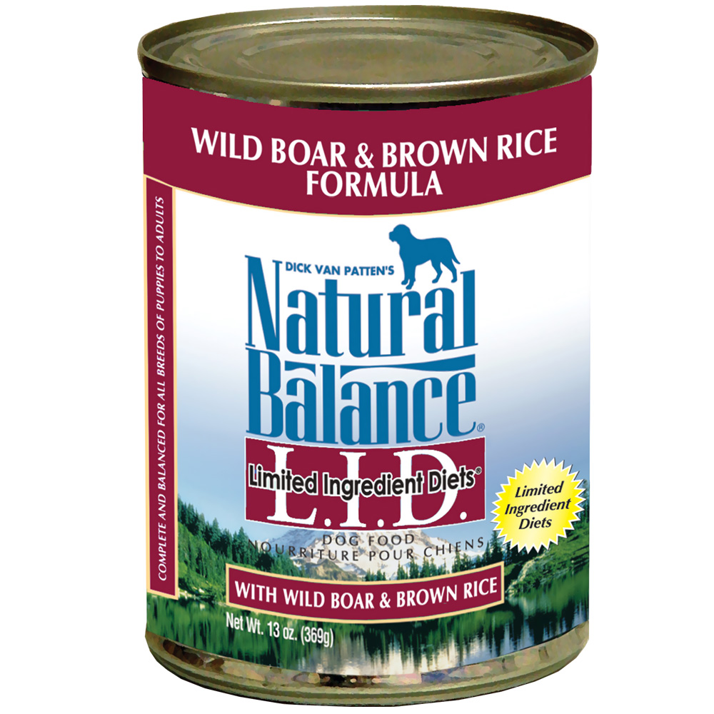 One Can Natural Balance Limited Dog Food