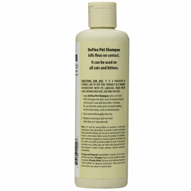 Natural Chemistry De Flea Shampoo for Cats (8 oz)