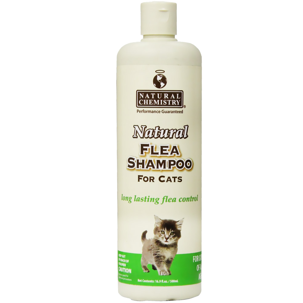 Natural Chemistry Natural Flea Shampoo for Cats (16 oz)