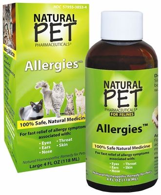Natural Pet Pharmaceuticals Allergies for Cats (4 oz)