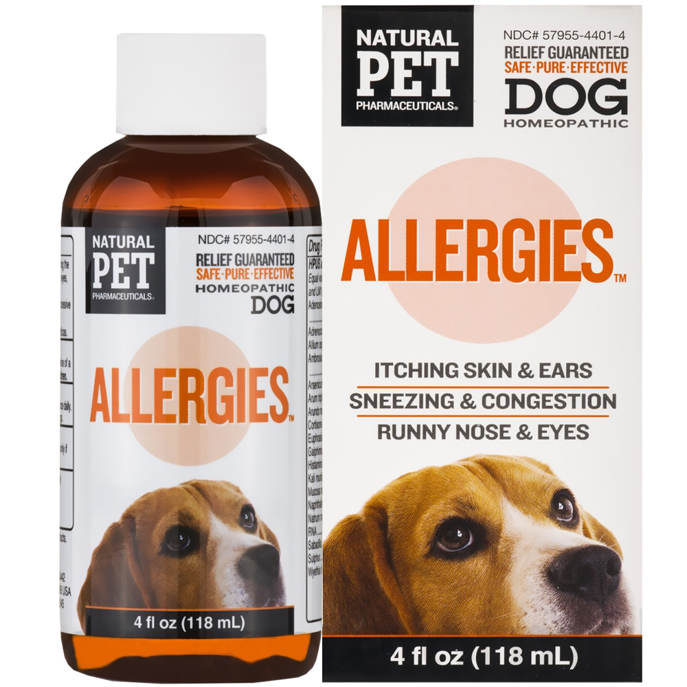 Natural Pet Pharmaceuticals Allergies for Dogs (4 oz)