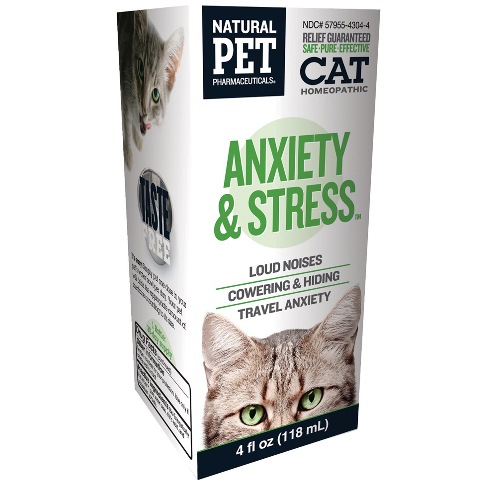 Natural Pet Anxiety & Stress for Cats (4 oz)