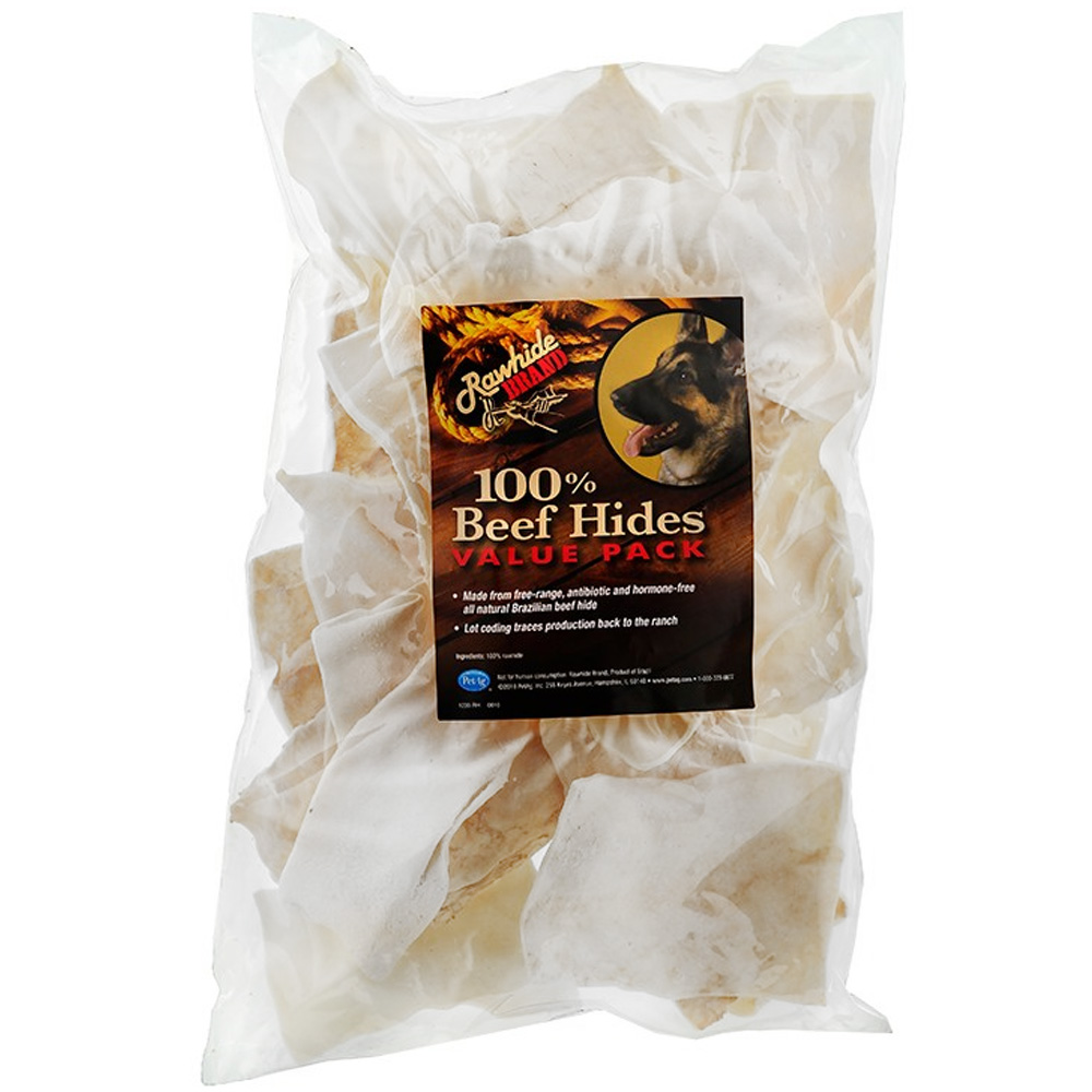 Natural Rawhide Chips (16 oz)