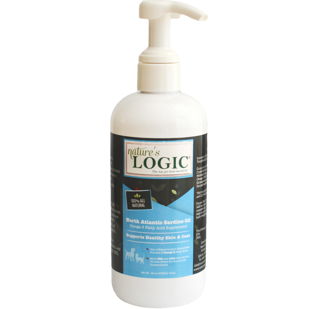 Nature's Logic Sardine Oil (16 oz)
