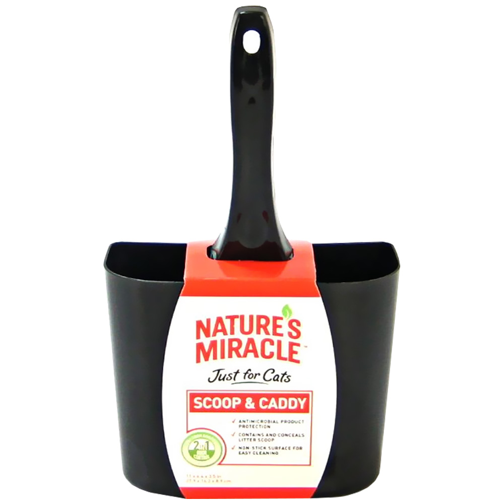 Nature's Miracle Cat Litter Scoop & Caddy