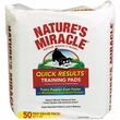 Nature's Miracle Quick Results Training Pads (50 Count)