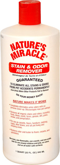 Nature's Miracle Stain & Odor Remover (32 oz)