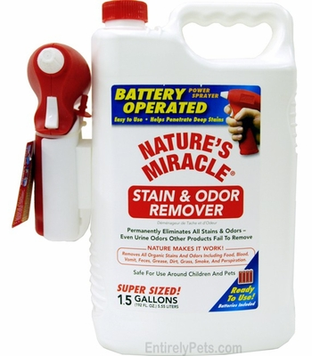 Nature's Miracle Stain & Odor Remover Power Sprayer (1.5 GAL)