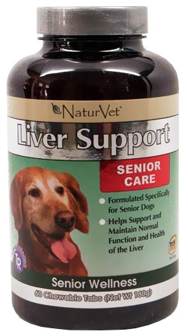 NatureVet Senior Liver Support
