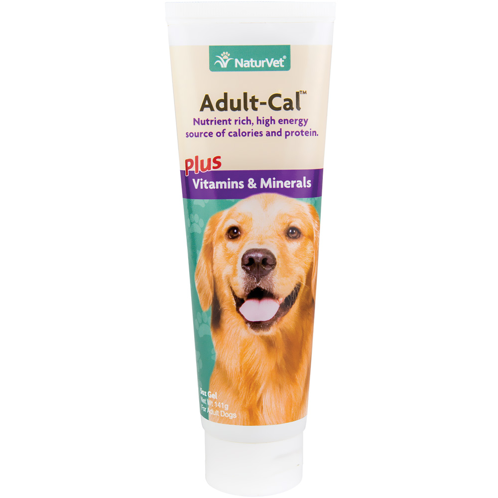 NaturVet Adult-Cal Gel for Dogs (5 oz)