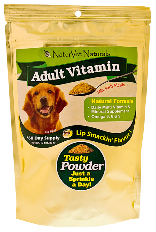 NaturVet Adult Vitamin Powder 60 Day (10 oz)