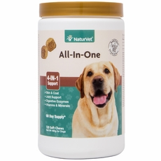 NaturVet All-In-One (120 Soft Chews)