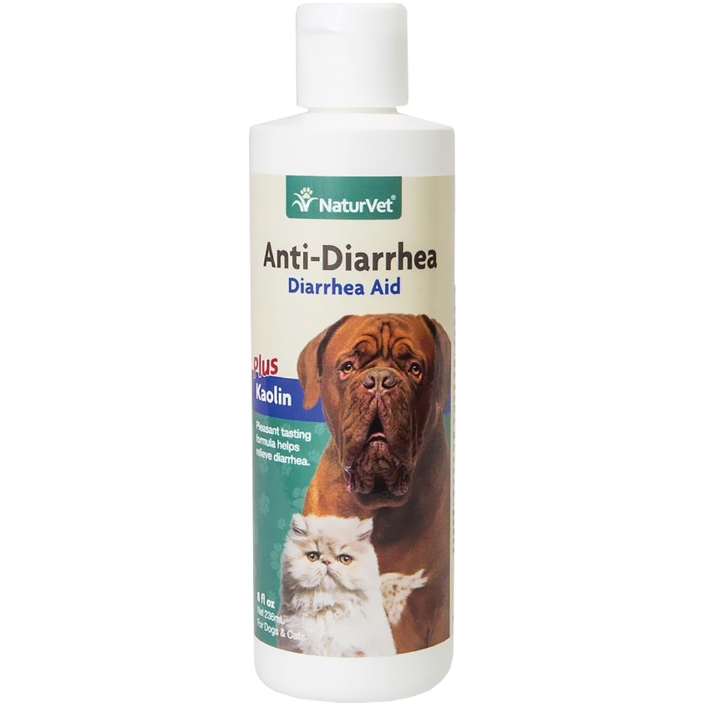 NaturVet Anti-Diarrhea for Dogs & Cats (8 oz)