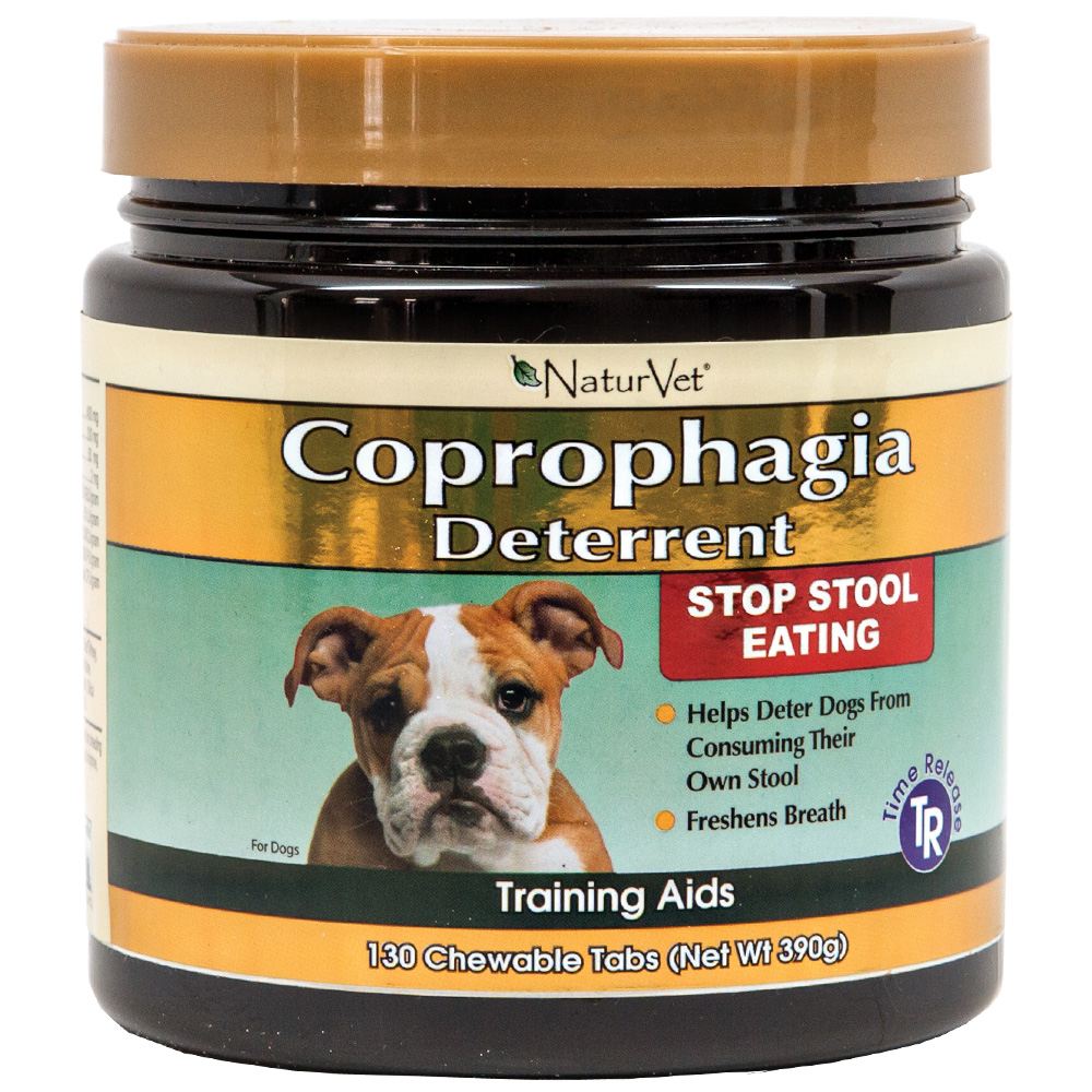 Naturvet Coprophagia Deterrent 130 Chewable Tablets