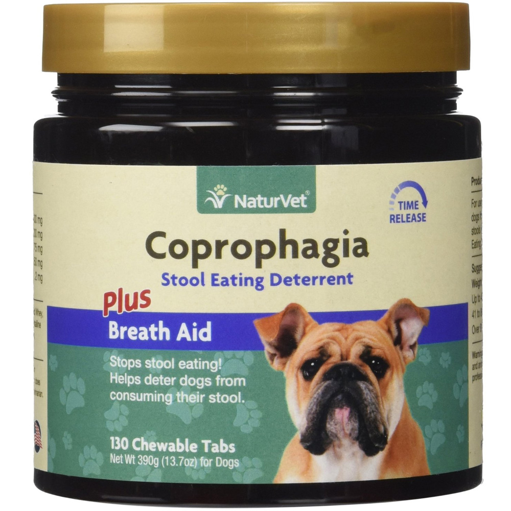 NaturVet Coprophagia Deterrent (130 chewable tablets)