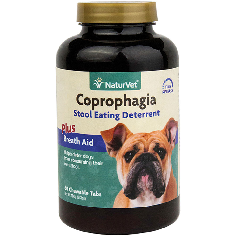 NaturVet Coprophagia Deterrent (60 chewable tablets)