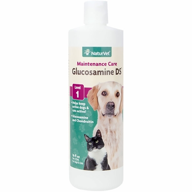NaturVet Glucosamine DS - Double Strength Liquid (16 oz)