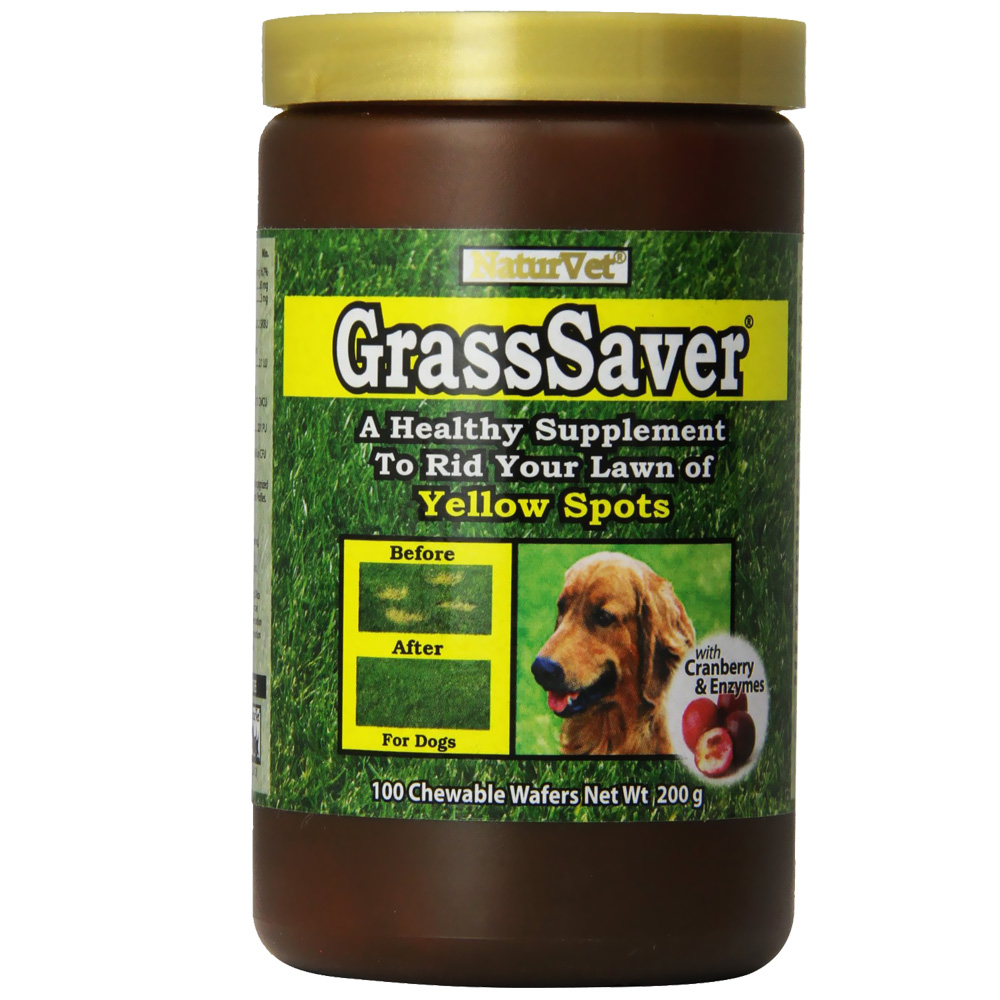 NaturVet GrassSaver (100 chewable wafers)
