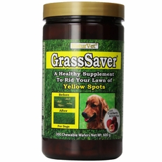 NaturVet GrassSaver (300 Chewable Wafers)