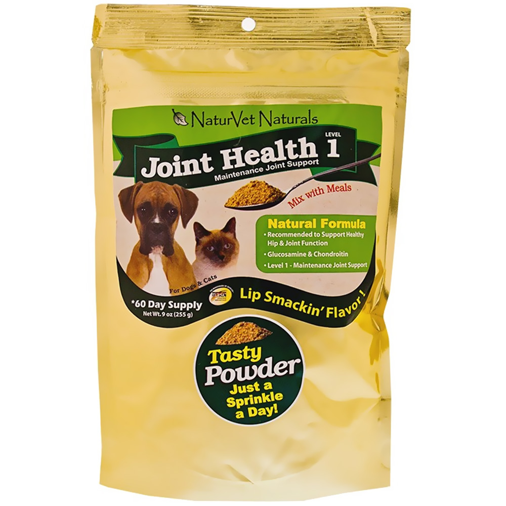 NaturVet Joint Health Level 1 (60 Day Supply - 9 oz Powder)