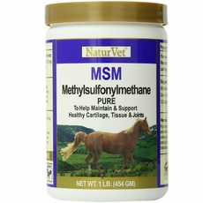 NaturVet MSM Pure Powder (1 lb)