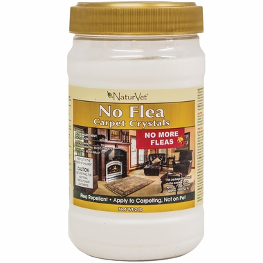 NaturVet No Flea Carpet Crystals (2 lb)