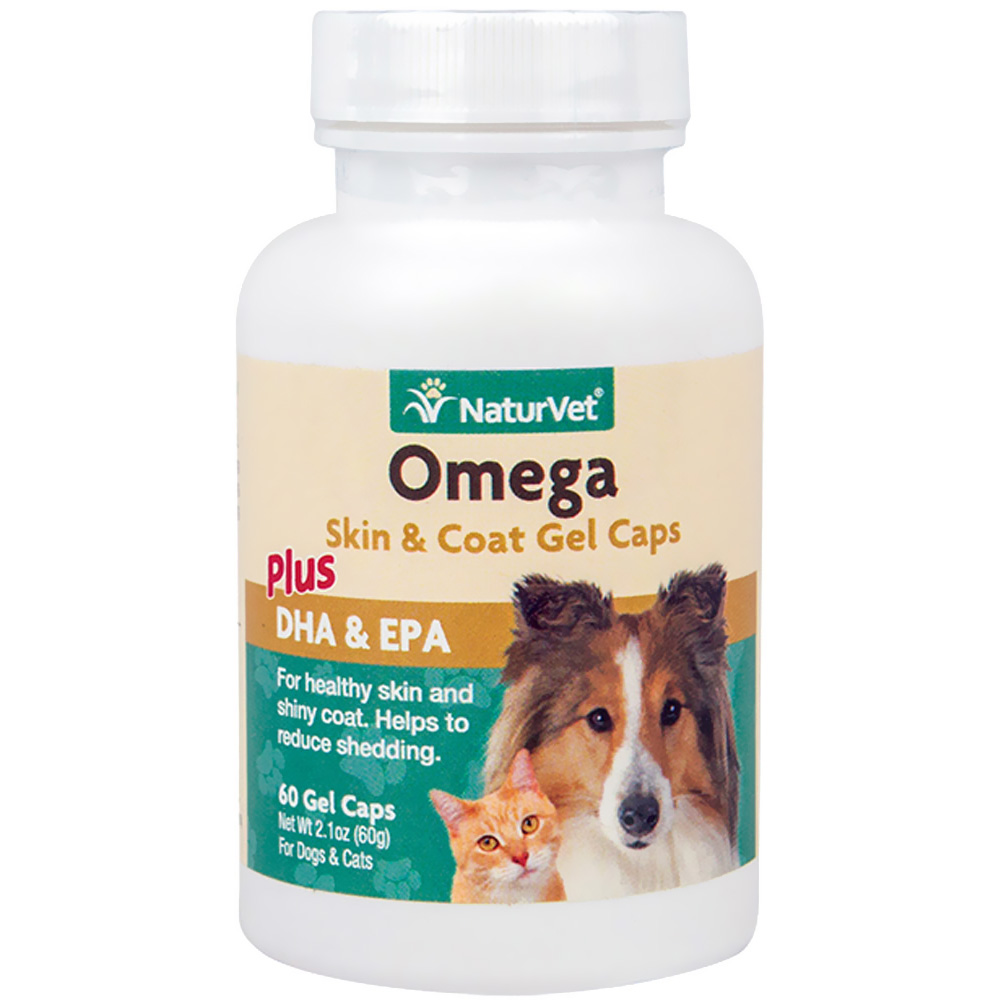 NaturVet Omega Gel Caps (60 count)