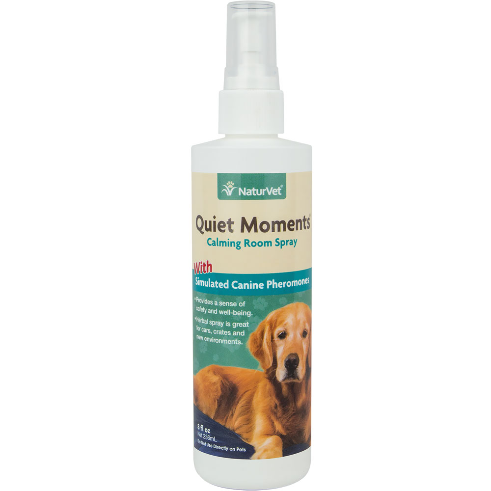 NaturVet Quiet Moments Herbal Calming Spray - Canine (8 oz)