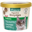 NaturVet® Digestive Enzymes Plus Probiotics for Cats (60 Soft Chew)