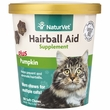 NaturVet® Hairball Aid Supplement Plus Pumpkins (100 Soft Chews)