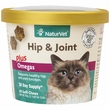 NaturVet® Hip & Joint Plus Omegas for Cats (60 Soft Chew)