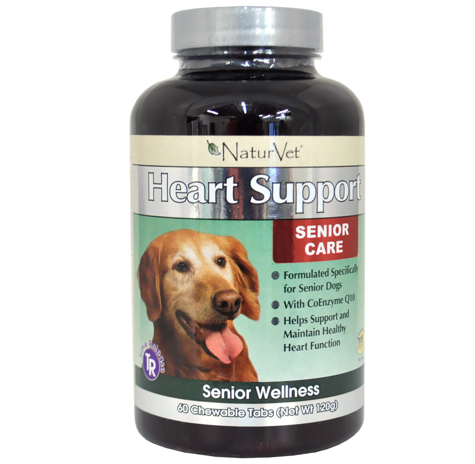 NaturVet Senior Heart Support (60 chewable tablets)