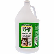 NaturVet Septiderm-V Skin Care Bath (5 Gallon)