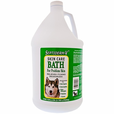 NaturVet Septiderm-V Skin Care Bath (Gallon)