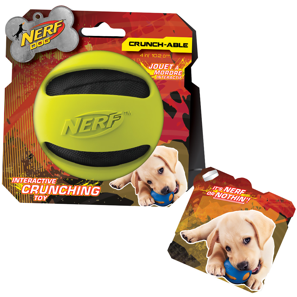 Nerf Dog Crinkle Balls - Green