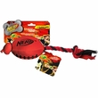 Nerf Dog Football Fling Slinger - Red/Black