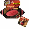 Nerf Dog Football Squeak Toy - Red