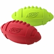 Nerf™ Dog Rubber Squeaker Football - Medium (7 in)