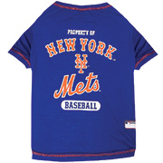 New York Mets Dog Tee Shirts