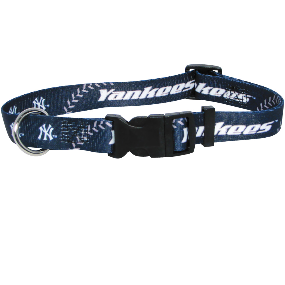 New York Yankees Dog Collars & Leashes