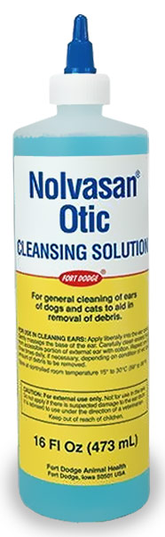 Nolvasan® Otic Cleansing Solution (16 oz)