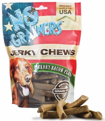 Nootie No Grainers Jerky Chews - Hickory Bacon (16 oz)