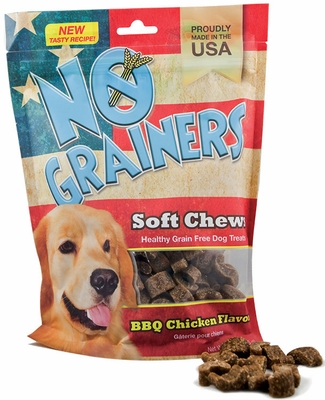 Nootie No Grainers Soft Chews - Barbecue Chicken (16 oz)
