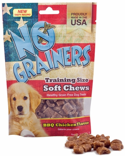 Nootie No Grainers Soft Chews - Barbecue Chicken (5 oz)