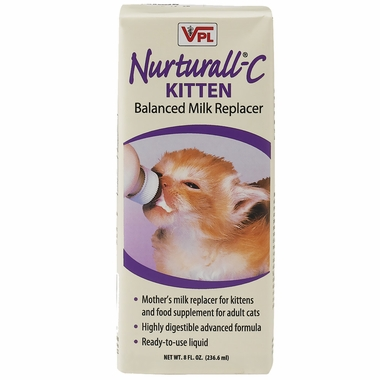 Nurturall-C Kitten Milk Replacer Liquid (8 fl oz)