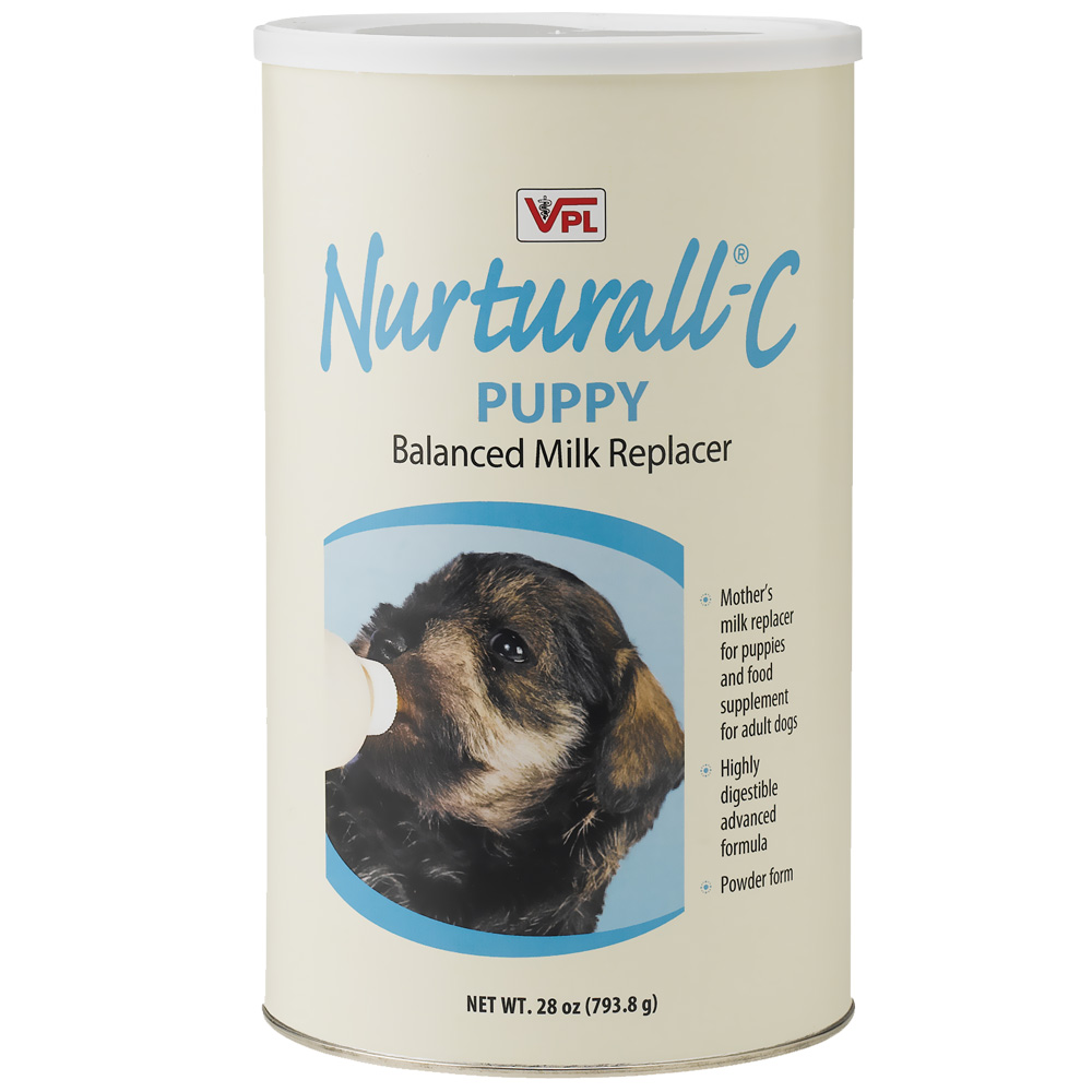 Nurturall-C Puppy Milk Replacer Powder (28 oz)