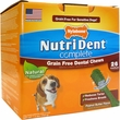 Nutri Dent Grain Free Dental Chew Peanut Butter - Medium (26 count)