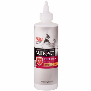 Nutri-Vet Ear Cleanse for Dogs (8 oz)